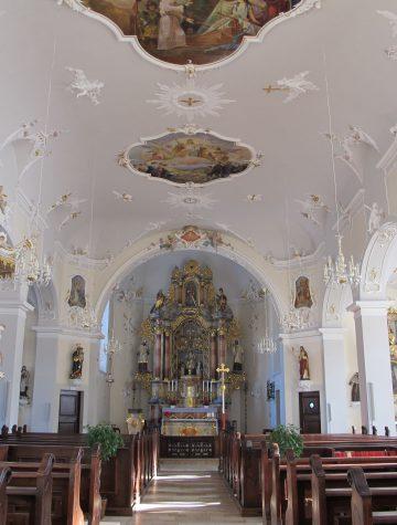 Kirche St.Cyriak Schapbach